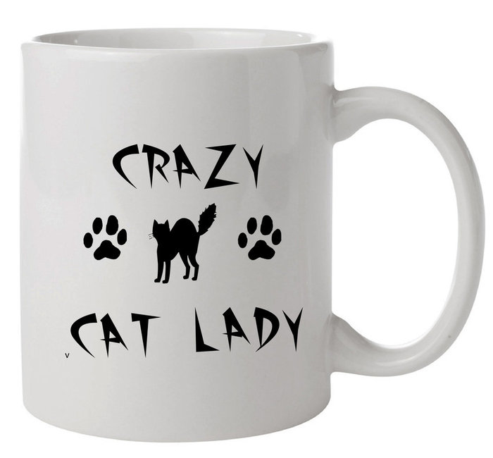 ЧАША ,,CRAZY CAT LADY""